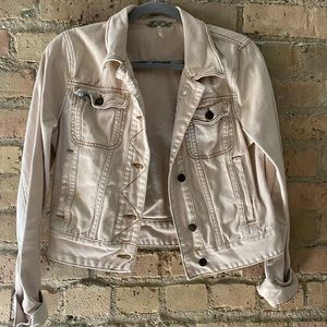 Light pink jean jacket